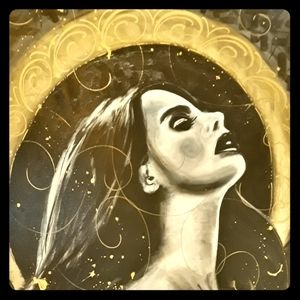 Lana Del Rey Portrait/Canvas